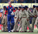 Stuart Broad was the last batsman to be dismissed, India v England, 2nd ODI, Indore, November 17, 2008