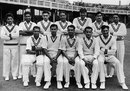 The Pakistan side poses for a team photo, England v Pakistan, Trent Bridge, July 1, 1954