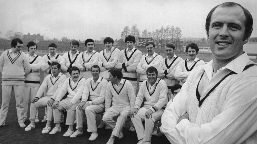 Geoff Boycott introduces the Yorkshire team
