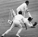 Dilip Sardesai is caught by Alan Knott, England v India, 3rd Test, The Oval, 5th day, August 24, 1971