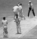 Ian Redpath is caught and bowled by Ray Illingworth for 171, Australia v England, 2nd Test, Perth, 4th day, December 15, 1970