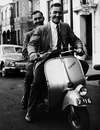 Alec and Eric Bedser go sight-seeing around Perth, 1954