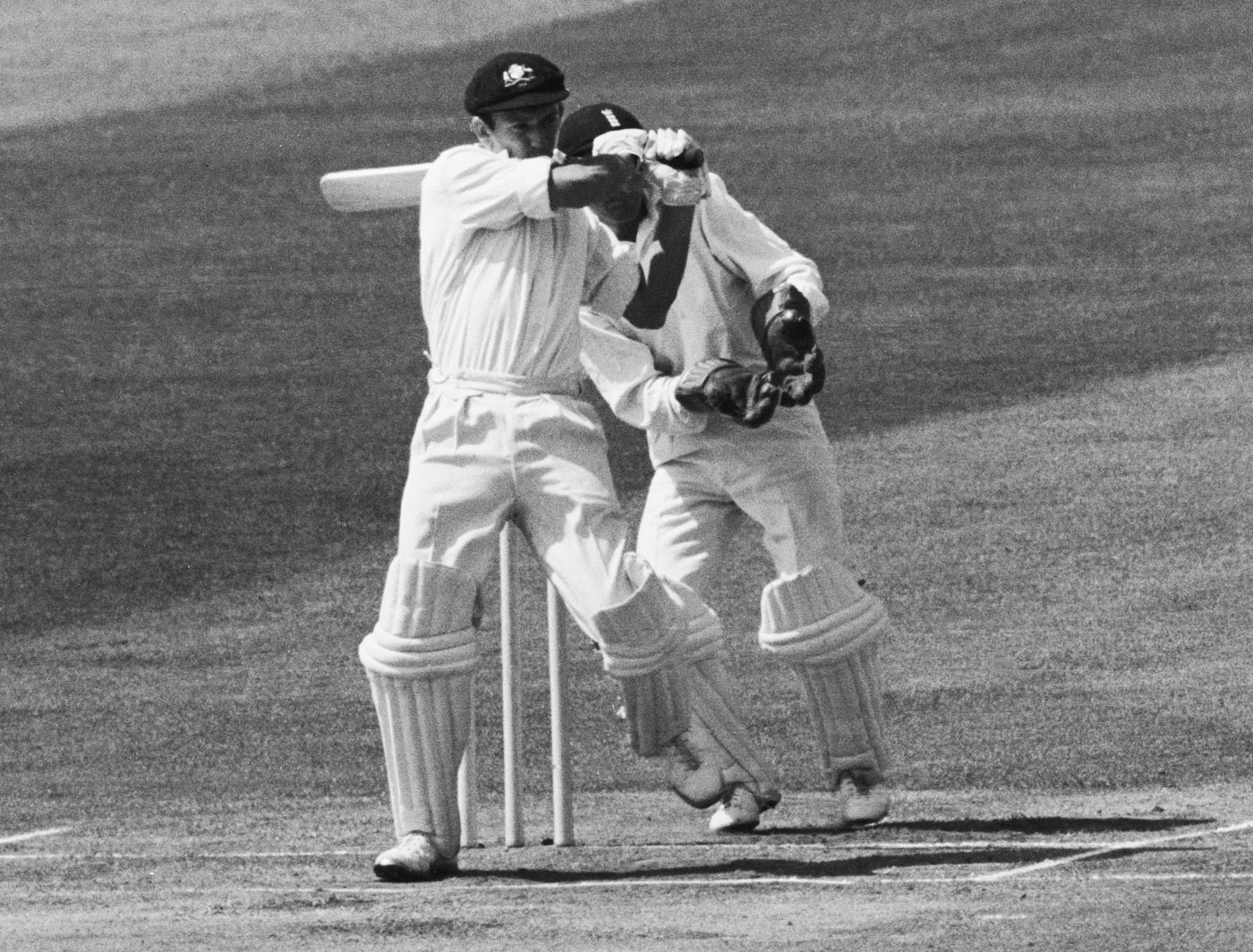 Bad pitch? Batting collapse? Walters knew only one way to play