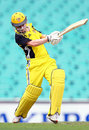 Renee Chappell drives firmly, New South Wales Women v Western Australia Women, Women's National Cricket League, Sydney, December 6, 2008