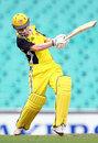 Renee Chappell drives firmly, New South Wales Women v Western Australia Women, Women's National Cricket League, Sydney, December 6, 2008