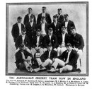 A portrait of the Australian team that contested the 1909 Ashes in England