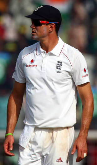 Kevin Pietersen runs out of options as India inch closer to the target, India v England, 1st Test, Chennai, 5th day, December 15, 2008