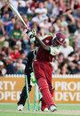 Shawn Findlay is bowled for 13, New Zealand v West Indies, 2nd Twenty20, Hamilton, December 28, 2008