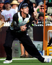 Jacob Oram catches Chris Gayle on the boundary, New Zealand v West Indies, 2nd Twenty20, Hamilton, December 28, 2008
