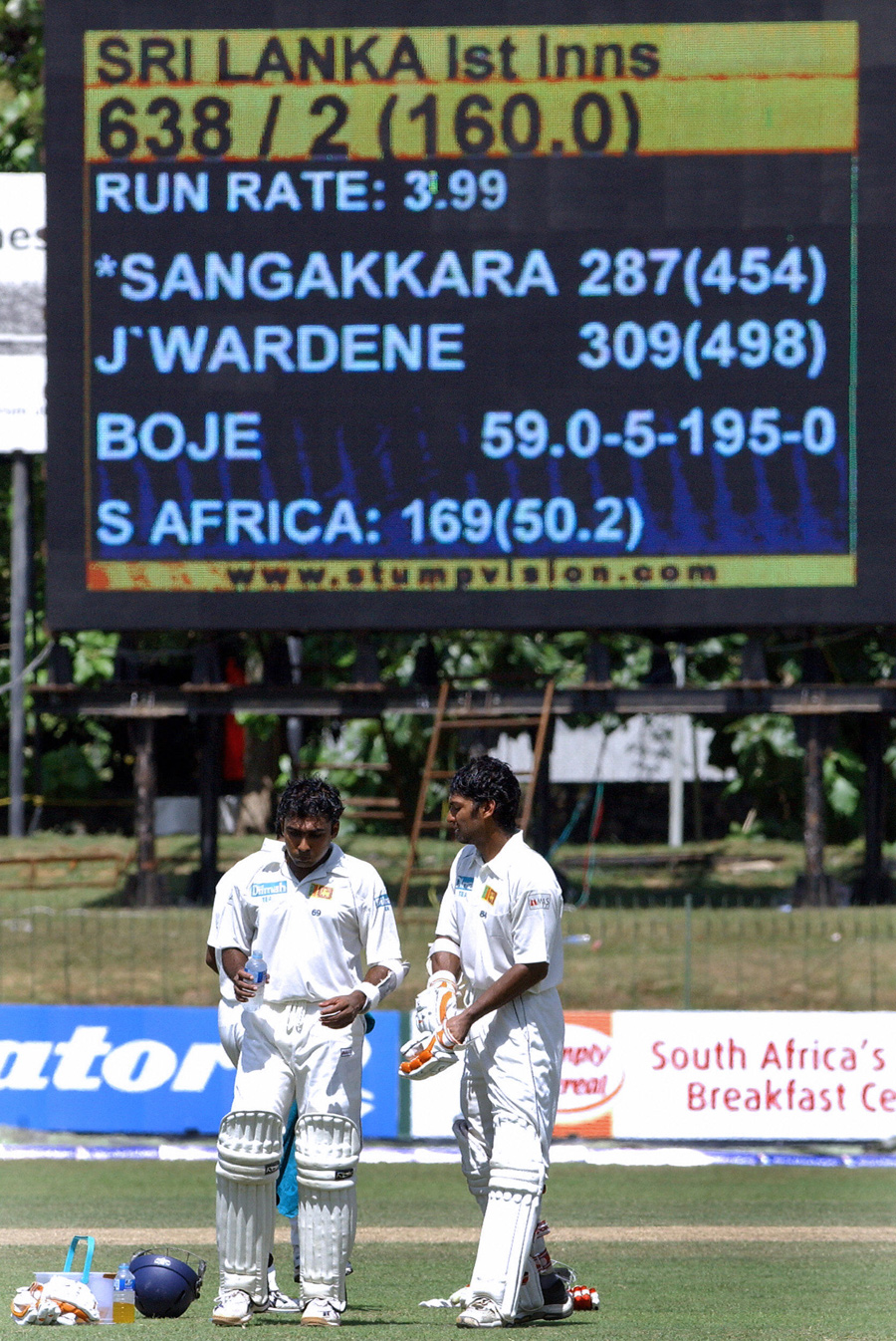 The SSC was the venue for the biggest partnership in Test cricket: 624 between Mahela Jayawardene and Kumar Sangakkara