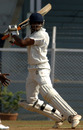 Ravindra Jadeja steers the ball through the off side