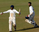 Jaydev Shah and Cheteshwar Pujara sealed the deal for Saurashtra, Karnataka v Saurashtra, 2nd quarter-final, Mumbai, Ranji Trophy Super League, 4th day, December 29, 2008