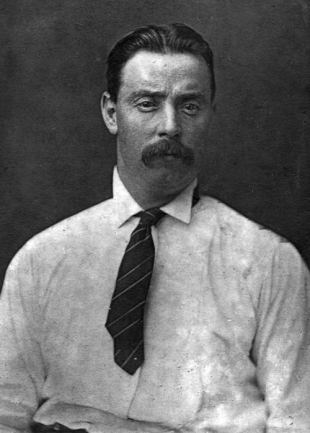 England and Yorkshire cricketer George Ulyett, 1910