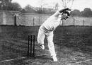 Australian cricketer Albert Trott, 1905