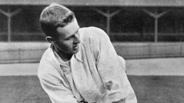 Australian cricketer Victor Trumper