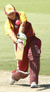 Jude Coleman hits over the top, Western Australia Women v Queensland Women, Perth, January 15, 2009