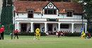 The pavilion of the Belgrano Athletic Club, Papua New Guinea v Uganda, World Cricket League, Buenos Aires, January 27, 2009