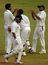 RR Parida walks back for 47 after being dismissed by Dhawal Kulkarni, West Zone v East Zone, Duleep Trophy semi-final, Mumbai, 2nd day, January 30, 2009