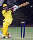 A powerful pull from Uganda's Roger Mukasa, Argentina v Uganda, World Cricket League, Buenos Aires, January 30, 2009