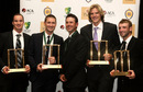 All the winners at this year's Allan Border Medal night