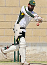 Asim Kamal opens up at the nets, Karachi, February 20, 2009
