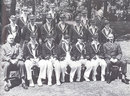 The England squad for the 1938-39 tour of South Africa