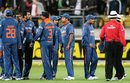 The Indians complain about crowd trouble, New Zealand v India, 2nd Twenty20 international, Wellington, February 27, 2009