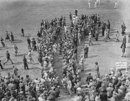 Stan McCabe is applauded after his 232, England v Australia, 1st Test, Trent Bridge, 3rd day, June 13, 1938
