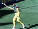 Tom Moody drops Hansie Cronje ... Australia v South Africa ODI 2nd Final at the Sydney Cricket Ground, Monday January 26th 1998.