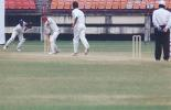 R Bhatia cleans up V Girilal as Reuben Paul looks on. Ranji Trophy South Zone League, 2000/01, Kerala v Tamil Nadu, Nehru Stadium, Kochi, 29Nov-02Dec 2000.