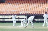 Reuben misses a stumping chance offered by Prashanth Menon off WD Balaji Rao. Ranji Trophy South Zone League, 2000/01, Kerala v Tamil Nadu, Nehru Stadium, Kochi, 29Nov-02Dec 2000.