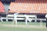 AR kapoor pulls Prashanth Menon. Ranji Trophy South Zone League, 2000/01, Kerala v Tamil Nadu, Nehru Stadium, Kochi, 29Nov-02Dec 2000.