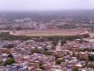 A panoramic view of stadium from Doordarshan & FM Tower, Jodhpur