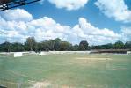 A panoramic view of the Bhadravati Ground from the stands, New Town, Bhadravati