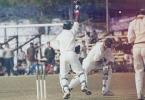The Orissa stumper Gopal goes up in joy as Parrida takes a catch. Ranji Trophy East Zone League 2000-01, Assam v Orissa Tinsukia District Sports Association Stadium, 4-6 Jan 2001