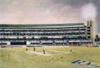 St George's Park in Port Elizabeth as portrayed by artist and ex Western Province wicket-keeper Richie Ryall.