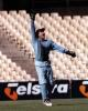 Captain Phil Emery jumps for joy after he caught Tim Neilson ... New South Wales v South Australia in the semi final of the MMC OD Series at the Sydney Cricket Ground, Sunday February 22nd 1998