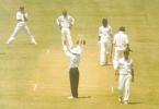 Jai Prakash Yadav hitting a six of Nadeem Khan, Board President's XI v  Pakistan, Day 2, Kochi