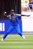 Sri Lankan fielder Eric Upashantha fires in a return throw from the outfield during New Zealand's innings of 205/8 from 50 overs. 2nd One-Day International: New Zealand v Sri Lanka at WestpacTrust Stadium, Wellington, 3 February 2001.