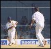 Mane plays a sweetly timed on drive. Australia in India 2000/01, Mumbai v Australians, Brabourne Stadium, Mumbai, 22-24 Feb 2001 (Day 3).