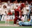 Kevin Roberts runs out Jimmy Maher during the Mercantile Mutual Cup Final at the Sydney Cricket Ground, March 1st 1998.