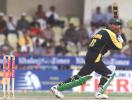 Yousuf Youhana in action, India v Pakistan, Coca-Cola Cup 1999/00, Sharjah C.A. Stadium, 26 March 2000.