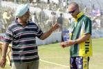 Bishen Bedi and 'Funky' Miller discuss a few nuances