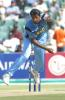 Javagal Srinath in action against Sri Lanka at New Wanderers