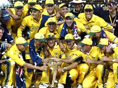 World Cup 2003 winners Australia © Reuters