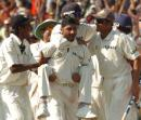 Harbhajan Singh - the man who was said to hold the key to India's success at 'The Eden', finished with just two wickets in the Pakistan first innings - when he dismissed Kamran Akmal, he overtook Erapalli Prasanna's tally of 189 wickets, to become India's leading off spinner