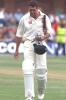 9 Dec 1999: Hansie Cronje of South Africa screams at himself after being caught for 2 runs during the 2nd Test match at St George's cricket ground Port Elizabeth in South Africa.