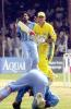 03 Apr 2001: Australia in India 2000/01, 4th One-Day International, India v Australia, Indira Priyadarshini Stadium, Visakhapatnam.