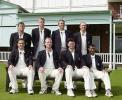 Back Row, left to right, Walker, Fulton, Wells, Nixon.  Front Row, left to right, Ealham, Fleming, McCague, Patel