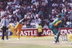 Warne bowling to Kallis, Australia in South Africa 1999/00, 3rd One-Day International, South Africa v Australia, New Wanderers Stadium, Johannesburg, 16 April 2000